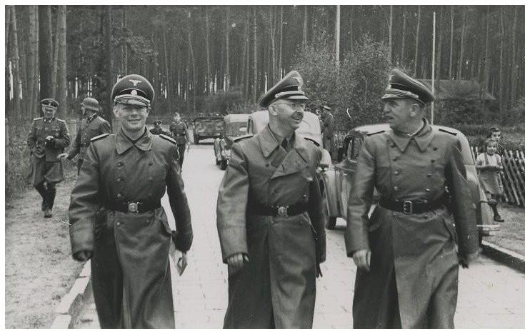 Heinrich Himmler visits