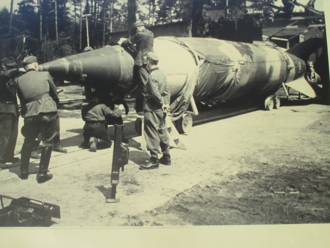 Assembly of a V-2 warhead before launching