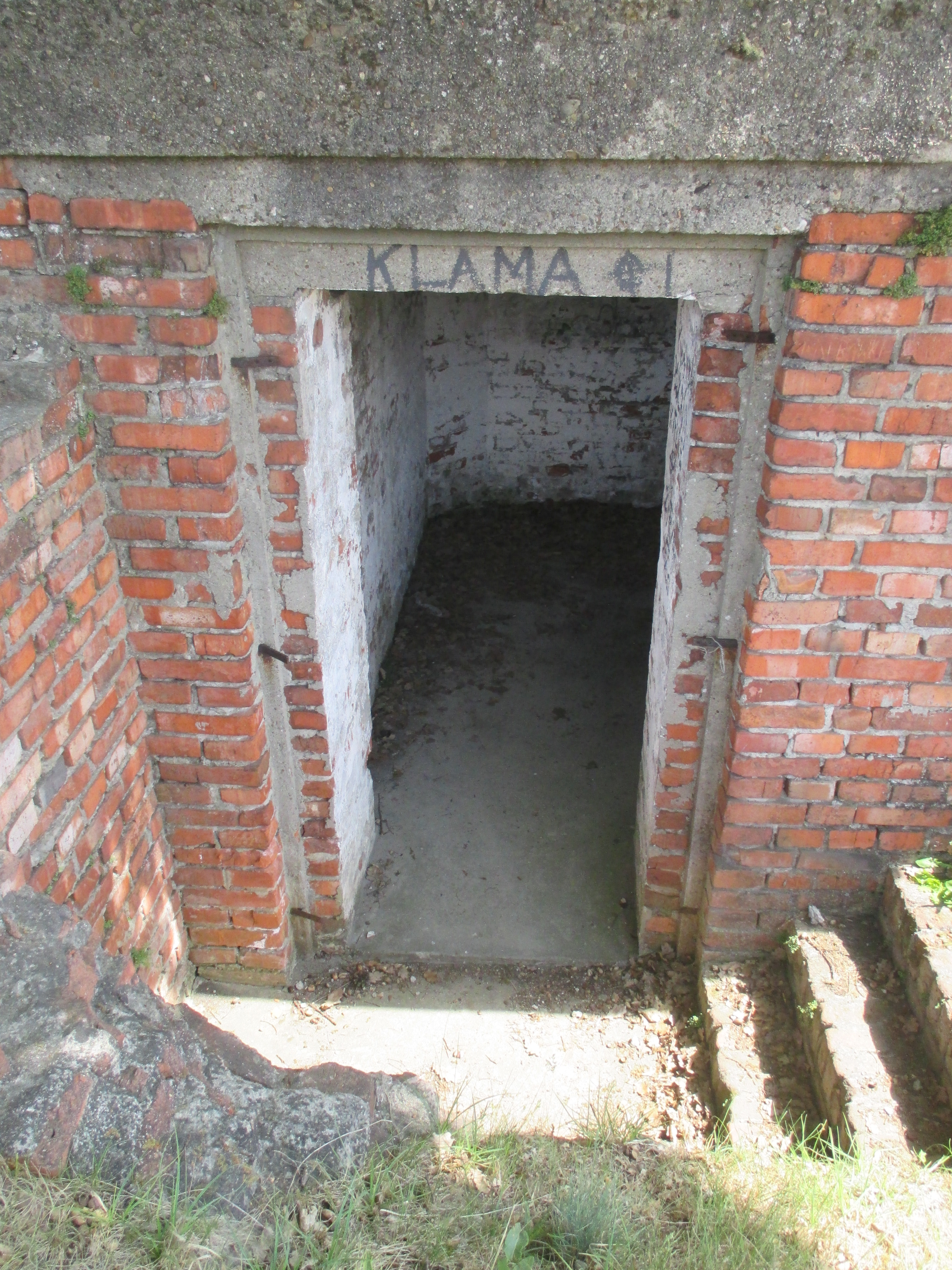 brick bunker
