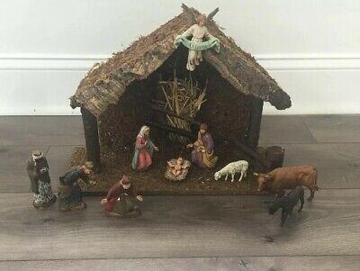 Vintage-Large-Italian-Landi-Presepio-Nativity-Manger-Creche